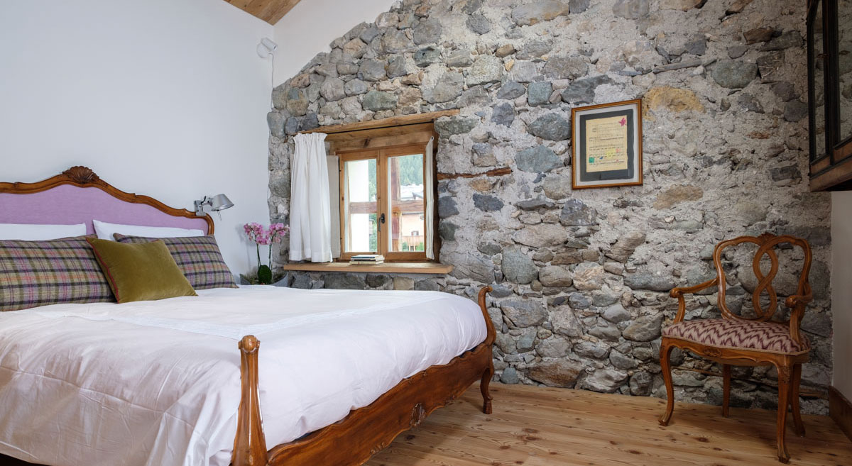 Camera da letto di lusso in Svizzera - Santandrea Luxury Houses