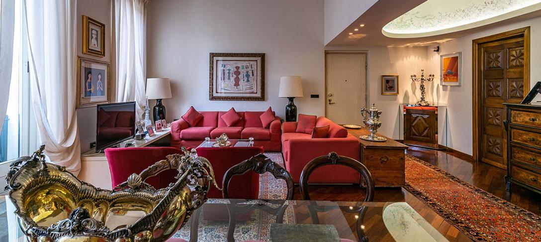Salotto di lusso Milano - Santandrea Luxury Houses