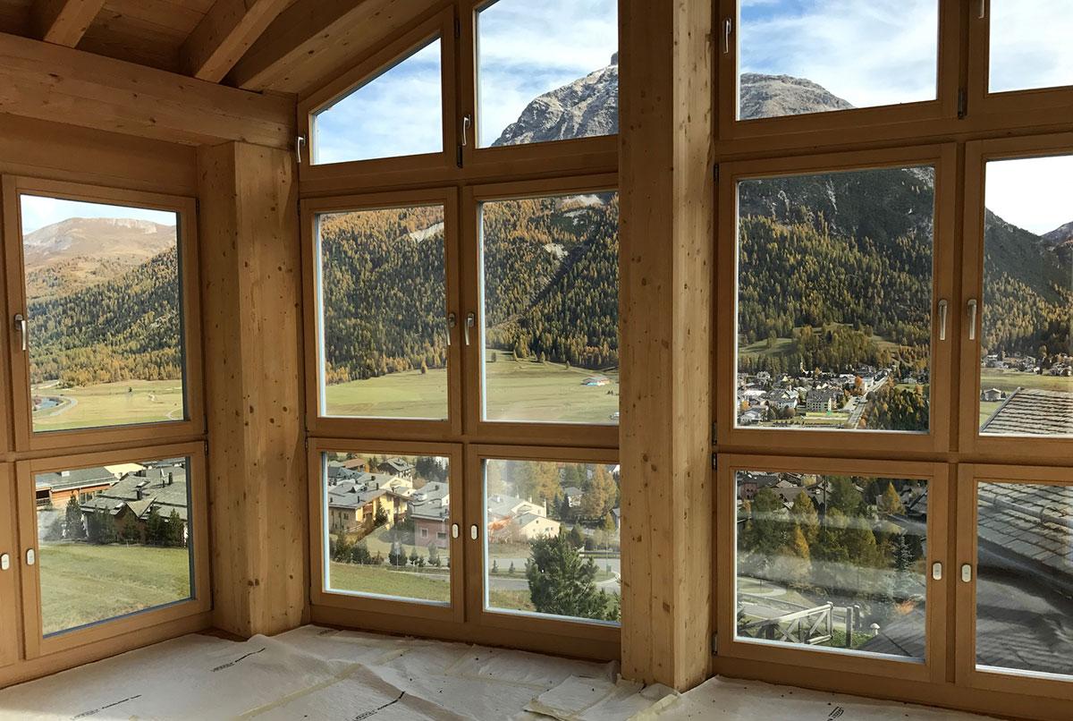 Paesaggio casa di lusso in Svizzera - Santandrea Luxury Houses